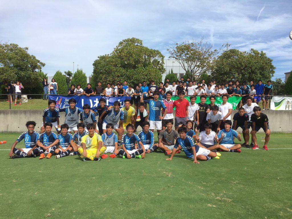 【10/28】「第56回東海学生サッカーリーグ戦」第19節 試合結果