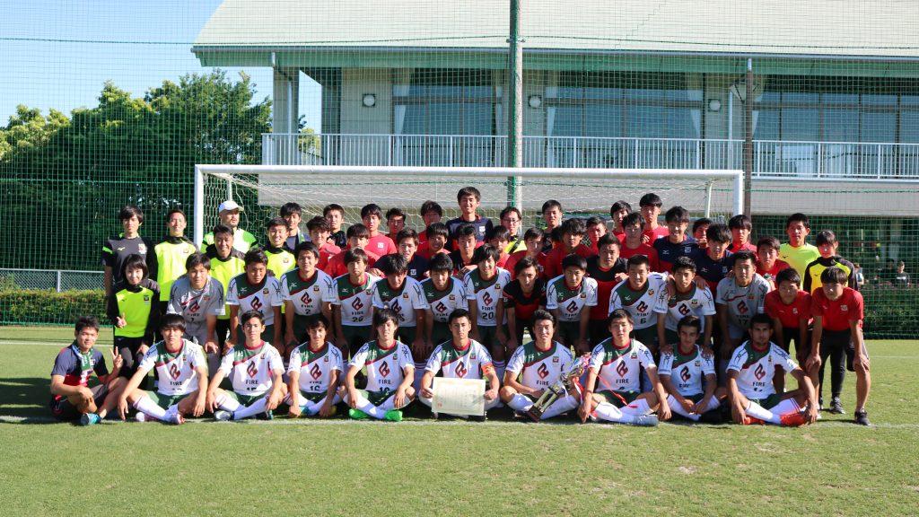 2018年度「第65回東海学生サッカートーナメント」 大会結果