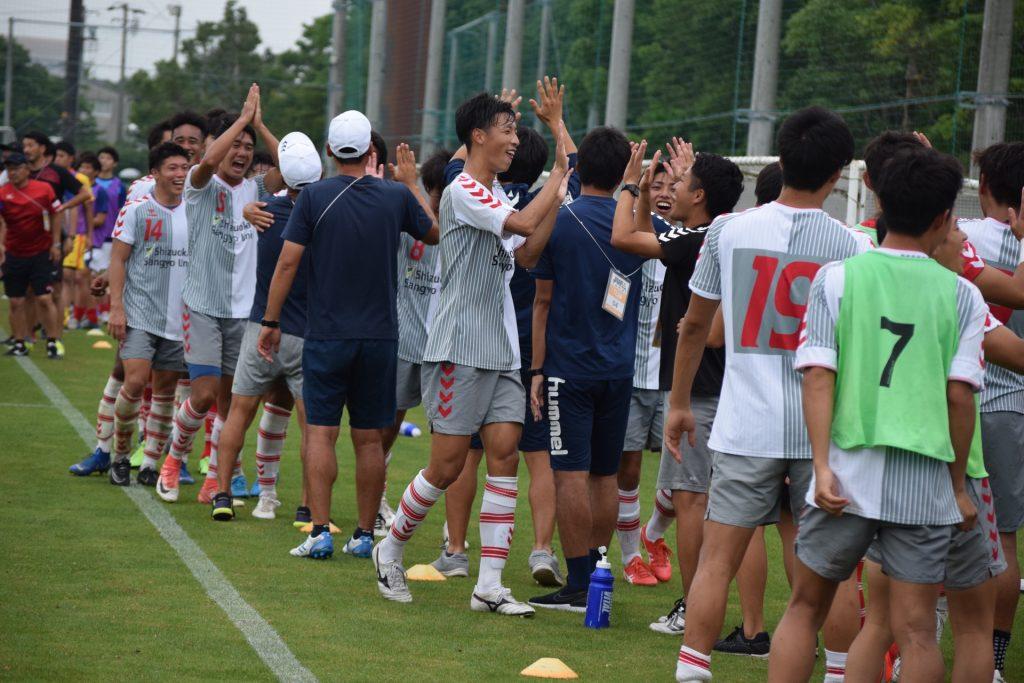 2019年度「第66回東海学生サッカートーナメント(総理大臣杯予選)」準決勝 試合結果
