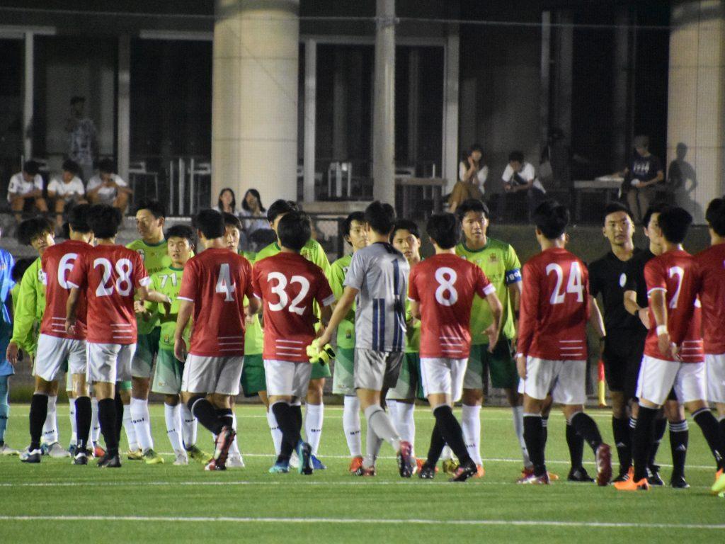 【7/24】「第58回東海学生サッカーリーグ戦」1部延期分 試合結果