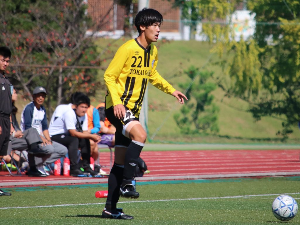 東園大・神谷凱士選手 川崎フロンターレ来季加入内定のお知らせ