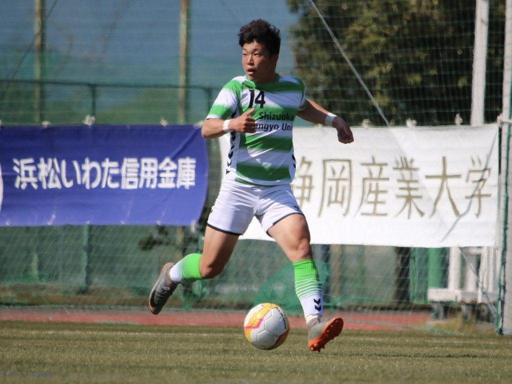 静産大・東山達稀選手 ロアッソ熊本来季加入内定のお知らせ